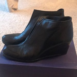 Stuart Weitzman wedge booties